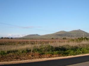 Der Berg Hermon im Norden des Golan. Foto: CC-SA-BY Marc Berthold