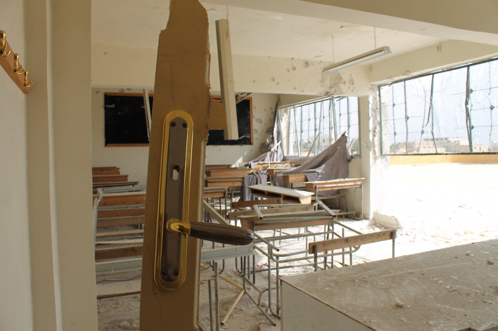 Schule im Norden Syriens (c) Mustafa Haid 2013