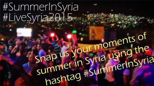 Die Aufforderung der staatlichen syrischen Nachrichtenagentur SANA, Bilder vom Sommer in Syrien zu posten