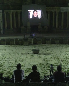 Syrisches Handy-Film-Festival in Bosra