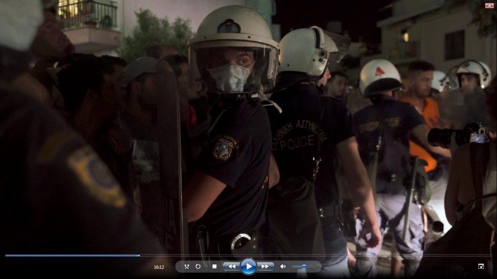 "Szene aus Amanda Baillys Film ""8 Borders, 8 Days"""